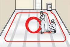 Podlahové topení návod